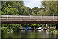 SU9950 : A3 bridge over River Wey by Ian Capper