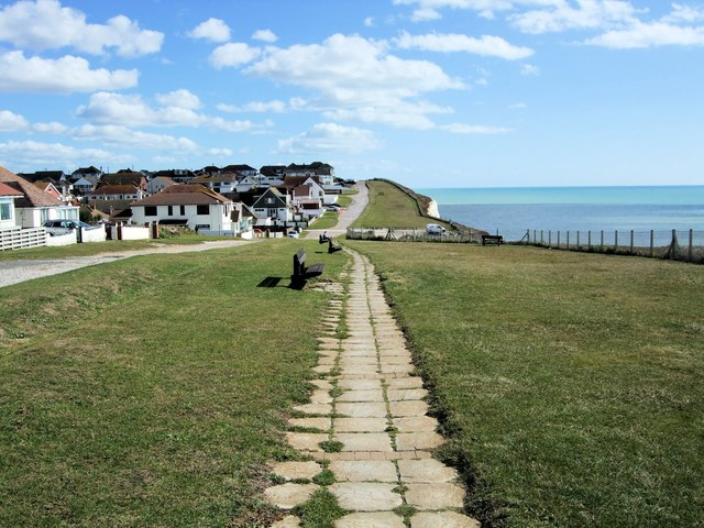 Clifftop footpath, Peacehaven