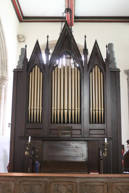 Organ, Church of Ss Andrew & Mary, Stoke Rochford