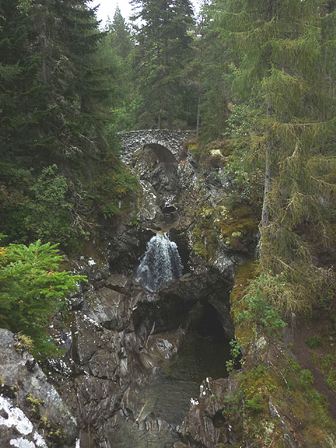 The first bridge at Falls of Bruar
