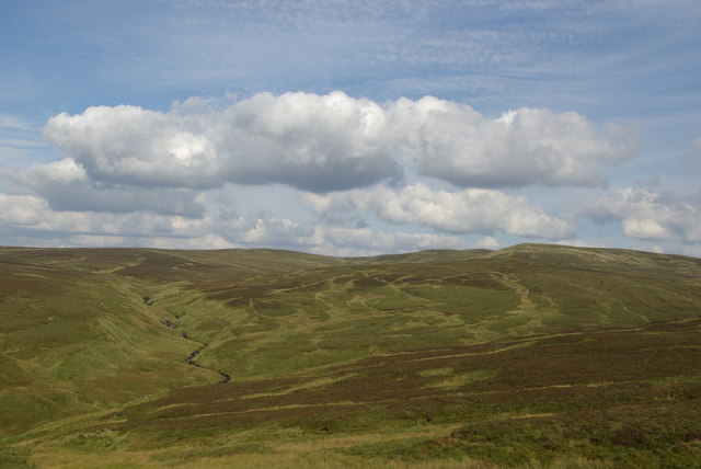 View from northern slopes of Lang Hill