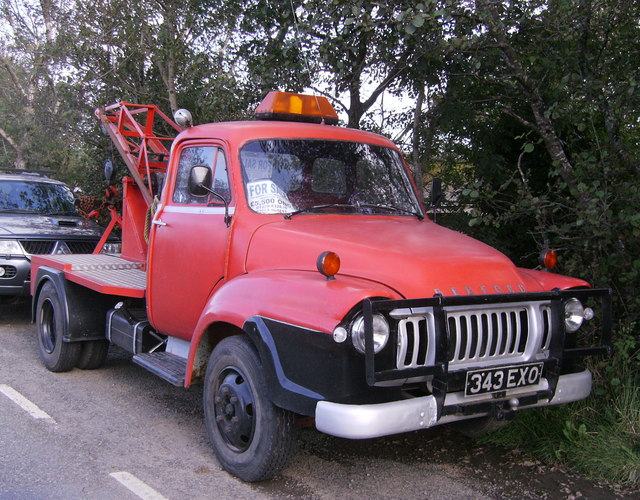"Bedford ""J"" type breakdown truck"