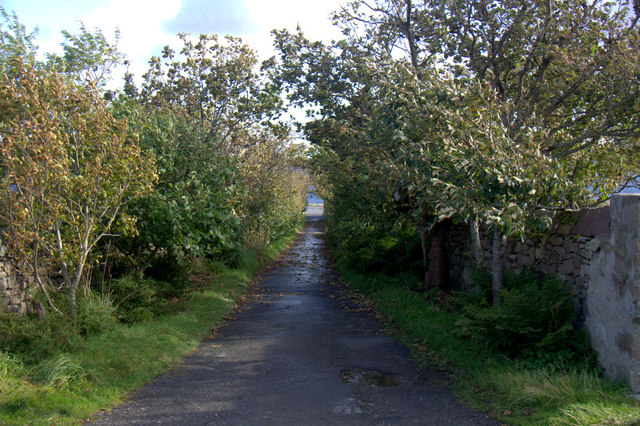 Lane to Seafield, Lerwick