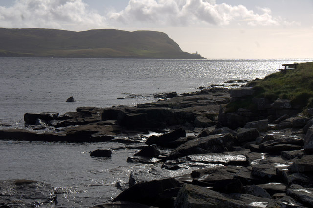 View to Bressay from Seafield