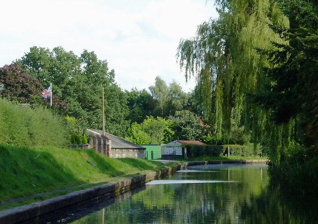 Grand Union Canal at Catherine de Barnes near Solihull