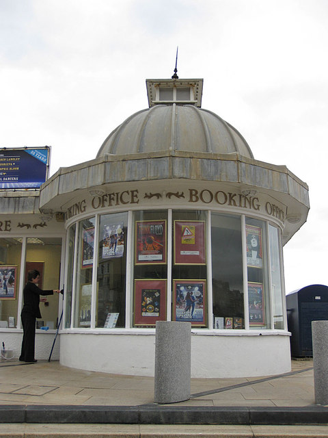 Cromer Pier booking office
