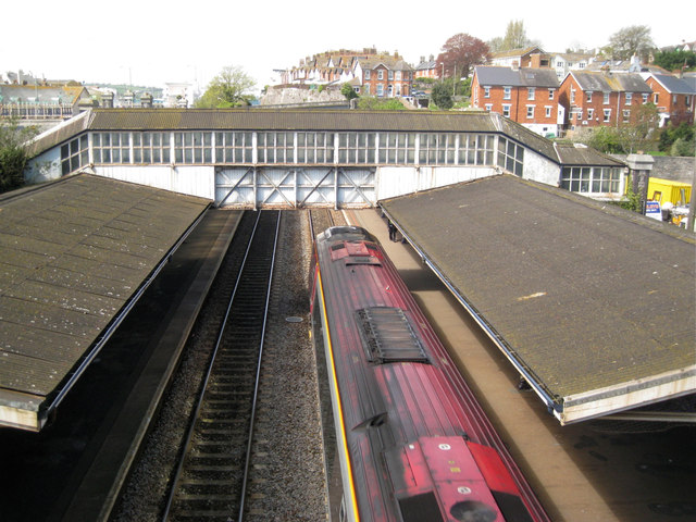 Footbridge, Teignmouth Station