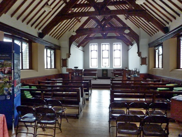 St Bega's Church, Eskdale Green, Interior