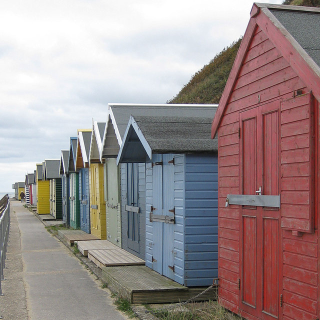 Cromer beach huts