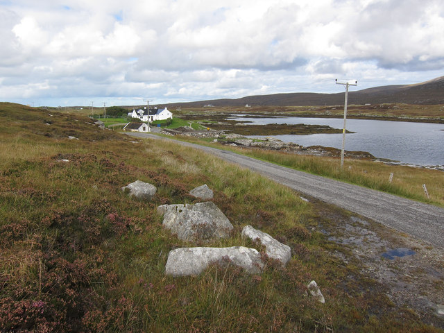 Road along Loch Eynort