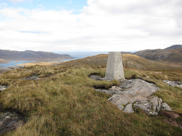 Trig point, Heabhal