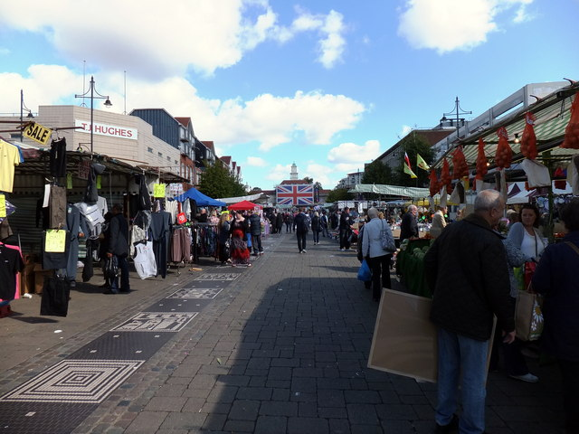 Saturday morning market Romford