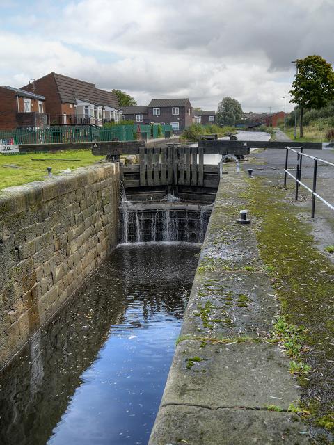 Rochdale Canal, Pinfold (aka Madhouse) Lock