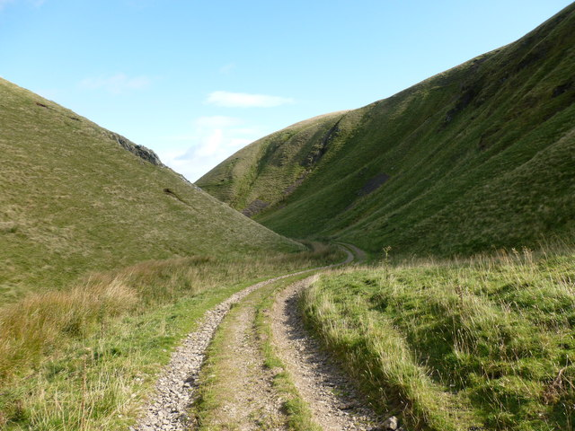 Track through Corb Glen