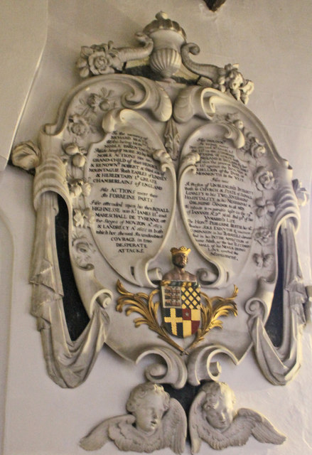 Memorial to Richard Bertie, Edenham Church
