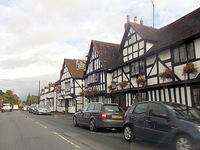 The Kings Arms Ombersley