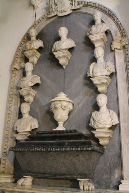 Bertie Family Memorial, St Michael's church, Edenham