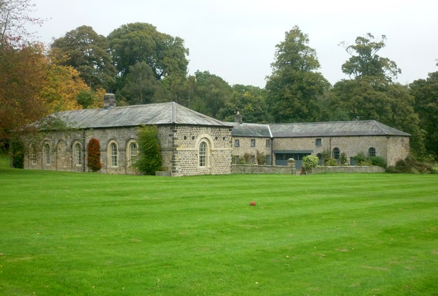 Stable block to Farnley Hall, North Yorkshire