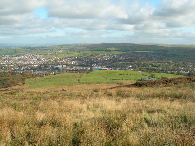 Eastern slopes of Darwen Moor