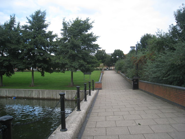 Footpath, Doncaster Lakeside