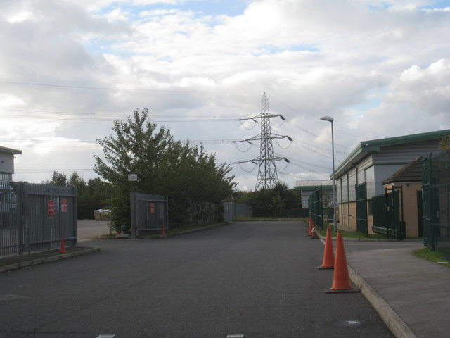 Factory access, West Moors Park