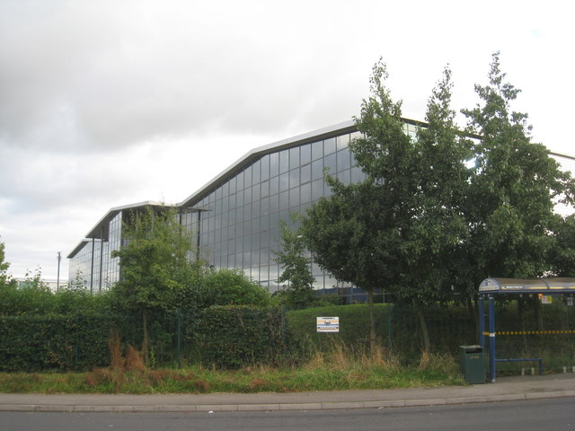 Factory units, West Moors Park