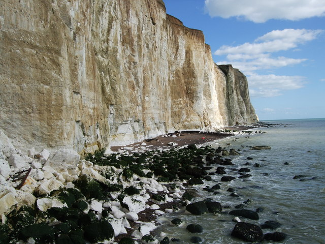 Cliffs and Beaches at Peacehaven Heights