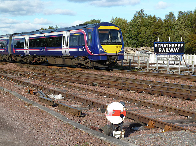 A train at Aviemore