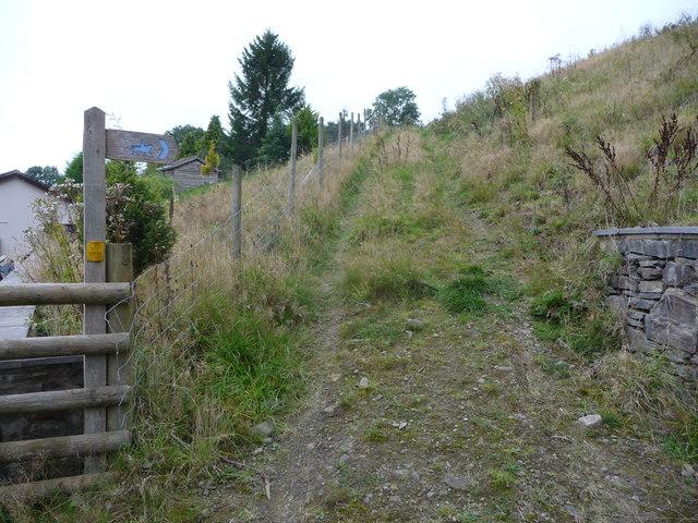 Bridleway to Llangyniew