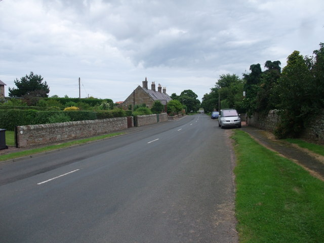 The B6353 through Fenwick