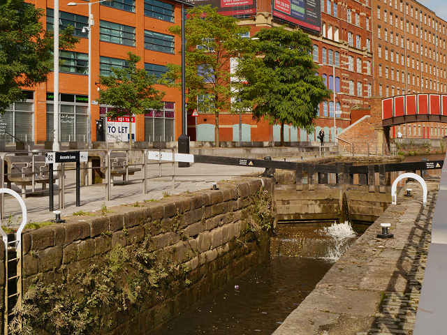 Rochdale Canal Lock#82 (Ancoats Lane)