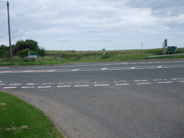 The A1 at Fenwick