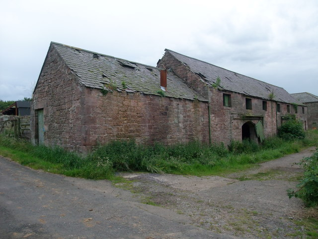 Old buildings at Fenwick Granary