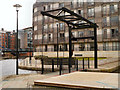 SJ8498 : Liftbridge, Piccadilly Basin by David Dixon
