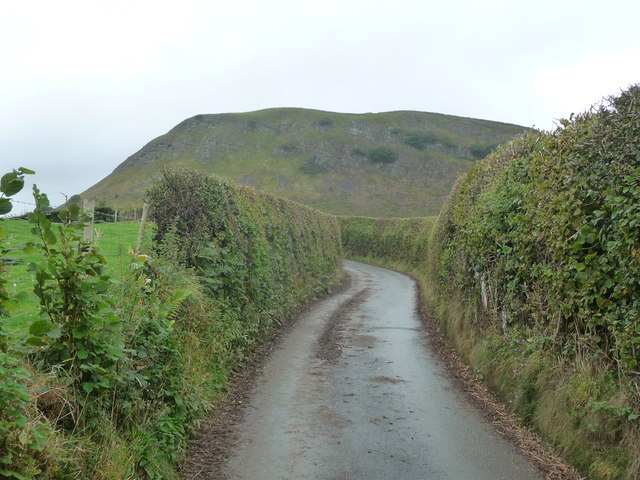 Lane near Moel Bentyrch