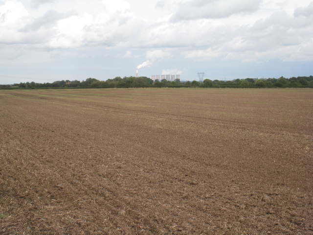 View towards Cottam power station