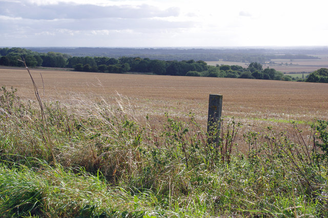 Stubble Field near Worlaby