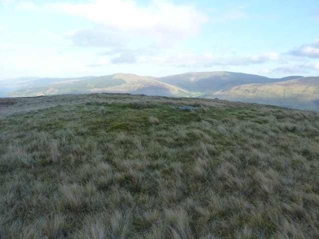 The 568m summit of Meall Odhar