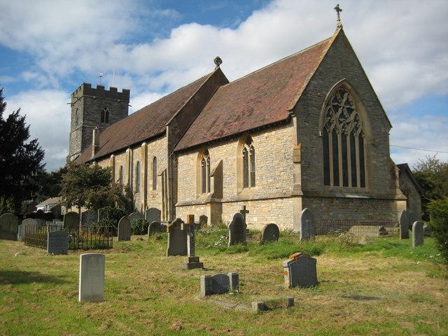 Twyning church