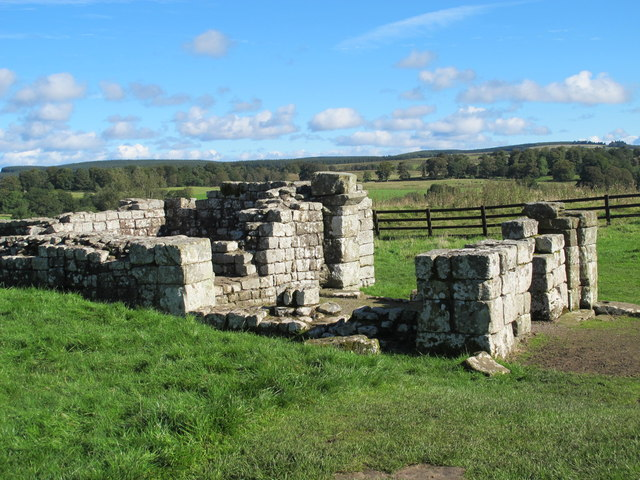 Birdoswald (Banna) - part of the main east gate (3)