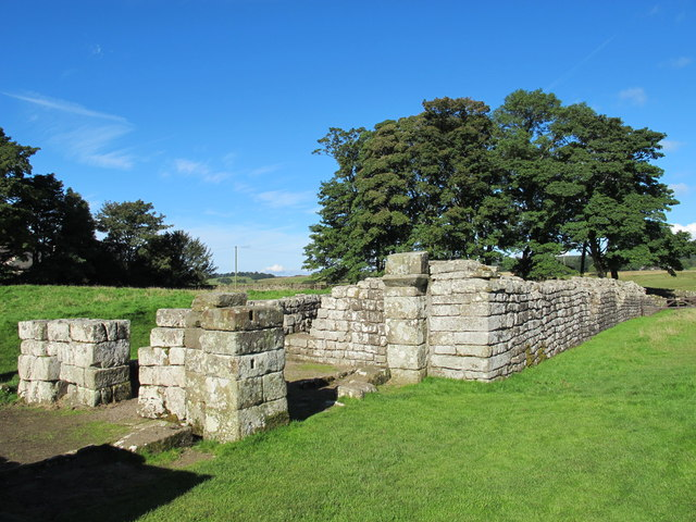 Birdoswald (Banna) - part of the main east gate and east wall