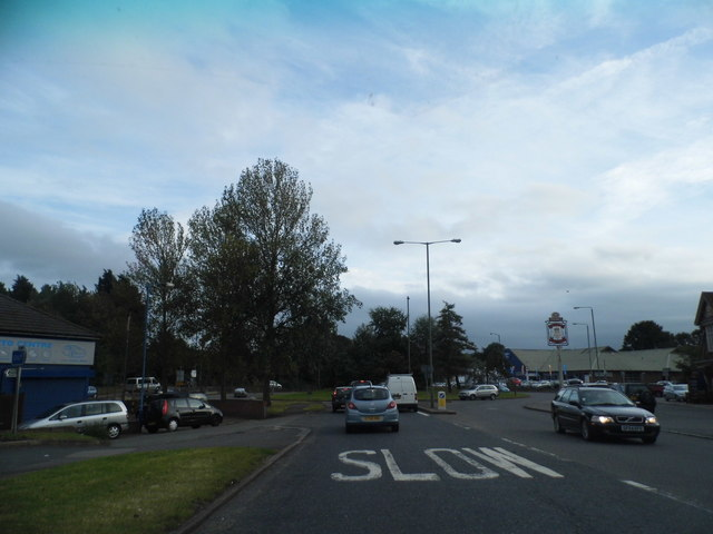 Farnborough Way approaching the A223 roundabout