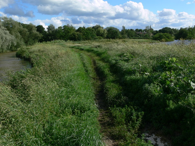 Path along the River Wreake