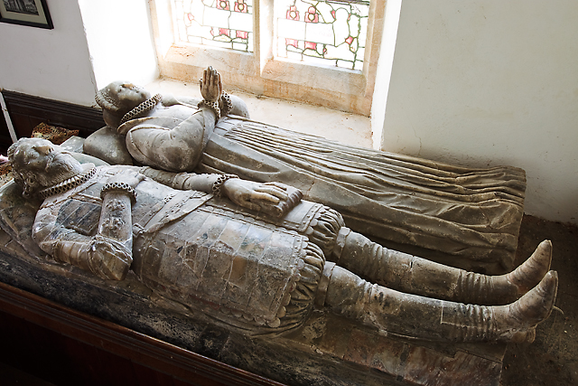 Church of St Thomas of Canterbury, Cothelstone - monument to Sir John Stawell