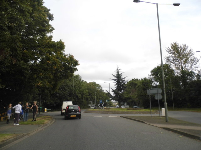 Roundabout on Farnborough Way, Farnborough