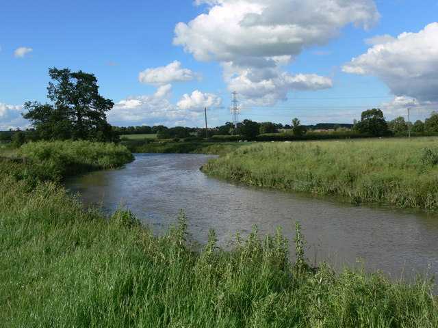 The River Wreake near Frisby on the Wreake
