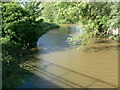 SK6918 : The River Wreake north of Frisby on the Wreake by Mat Fascione
