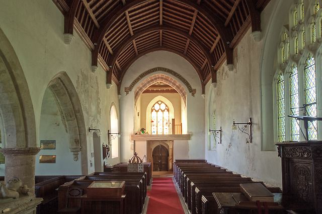 Church of St Thomas of Canterbury, Cothelstone - the nave