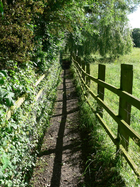Footpath to Frisby on the Wreake