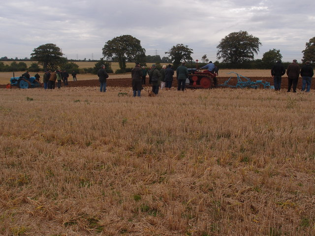 Ploughing enthusiasts